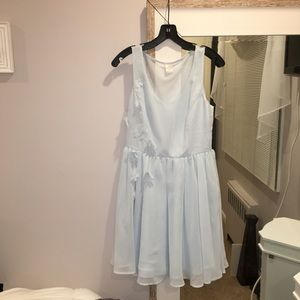 "LC Lauren Conrad Light blue ""Cinderella dress"""